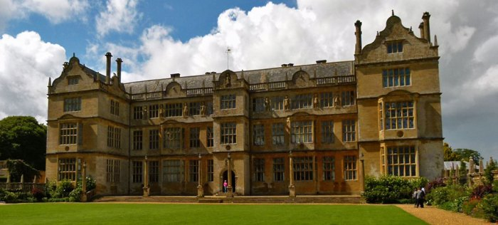 Montacute House, Somerset, east side