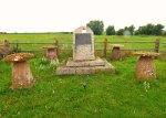 Memorial, Sedgemoor, Battlefield