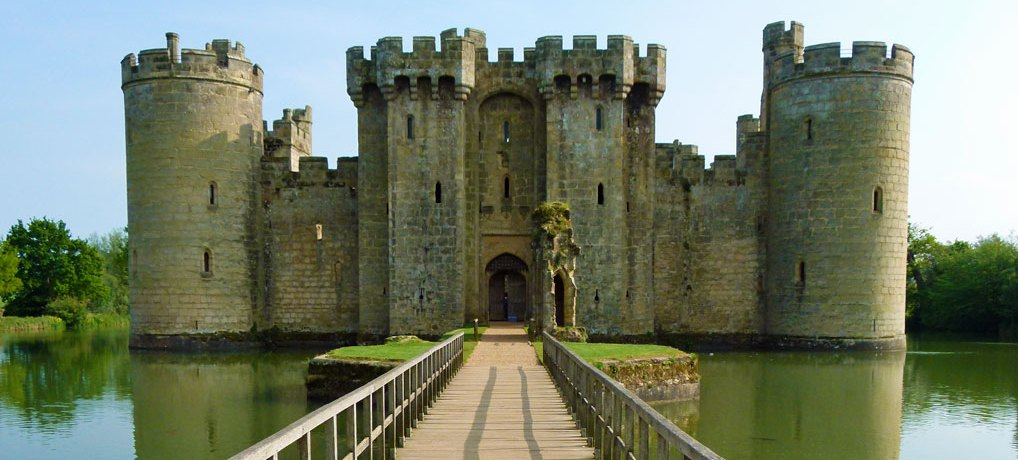 Beautiful Bodiam Castle