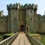 Bodiam, East Sussex, romantic, photogenic, castle