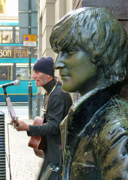 Lennon, Mathew Street, Liverpool