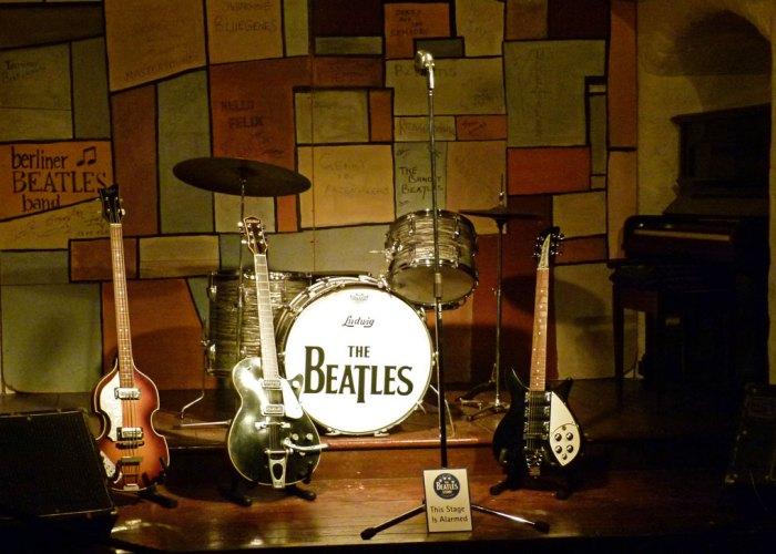 Cavern, Beatles' Story, museum, Albert Dock, Liverpool
