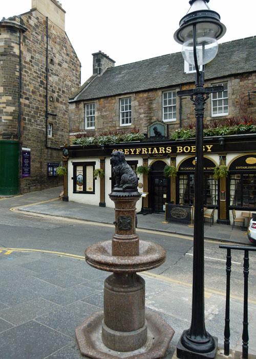 Greyfriars Bobby, Candlemakers Row, King George IV Bridge, Edinburgh