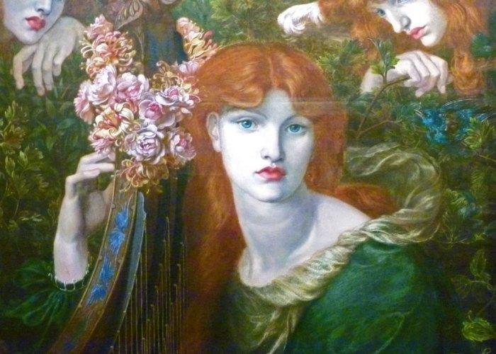 London, Guildhall Art Gallery, La Ghirlandata, Dante Gabriel Rossetti