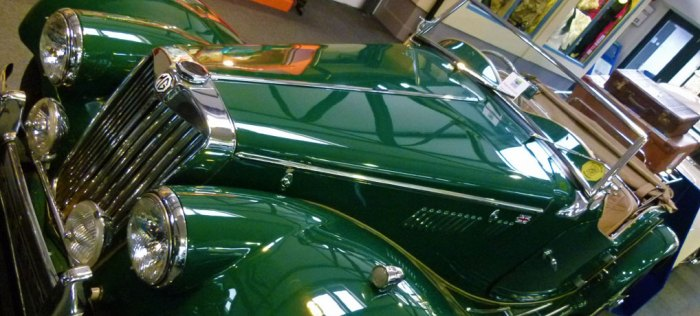 1954 MG sports car, Lakeland Motor Museum