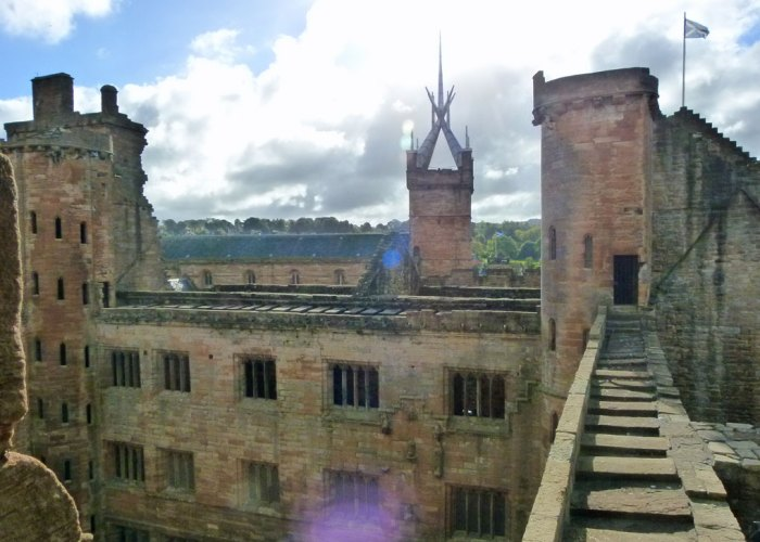 Linlithgow, Palace, St Michaels, Scotland