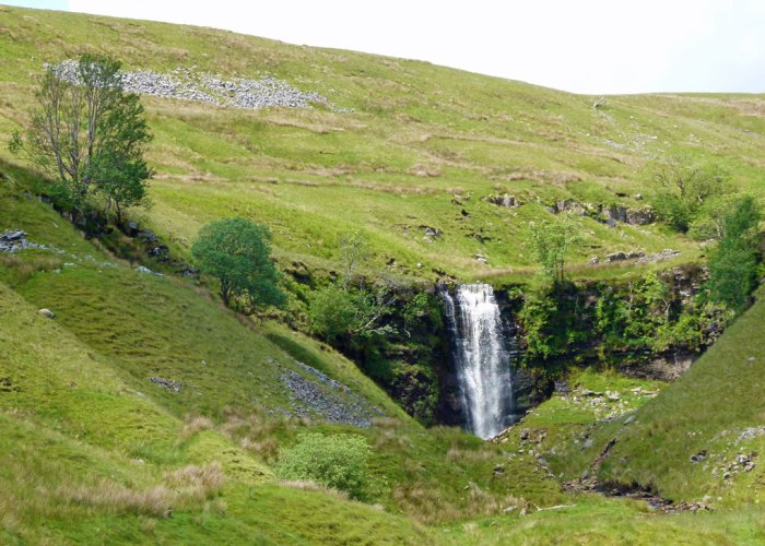 Force Gill, waterfall, Whernside