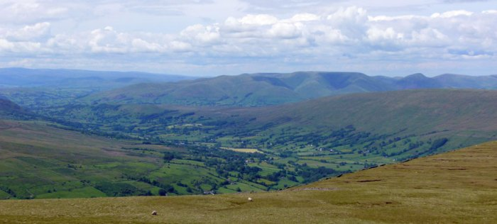 Dentdale, view, Whernside
