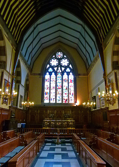 Balliol's Chapel, Oxford, St Catherine of Alexandria