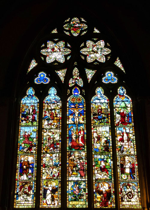 Balliol, Chapel, east window, stained glass, Oxford