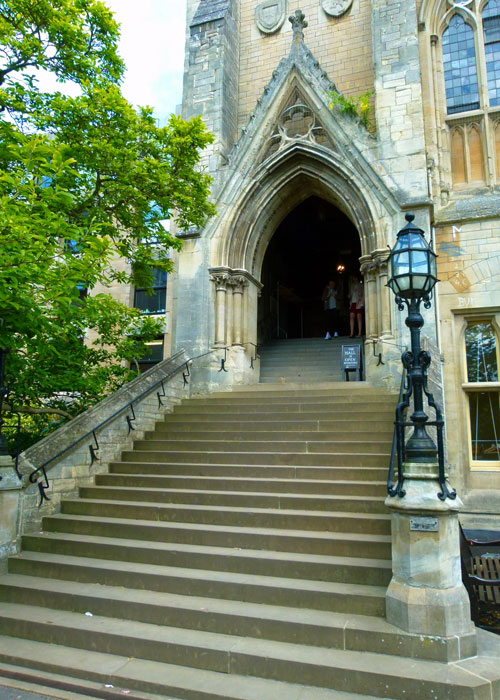 Balliol, the Hall