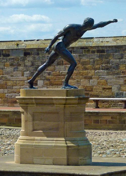 Whitby, Borghese gladiator