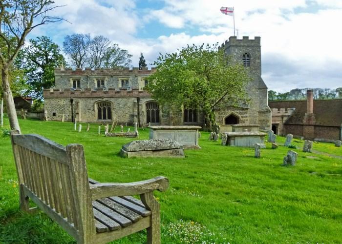 St Mary's, Ewelme, Oxfordshire, almshouses