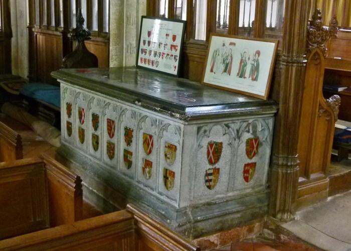 Thomas Chaucer, Matilda Burghersh, St Mary's, Ewelme