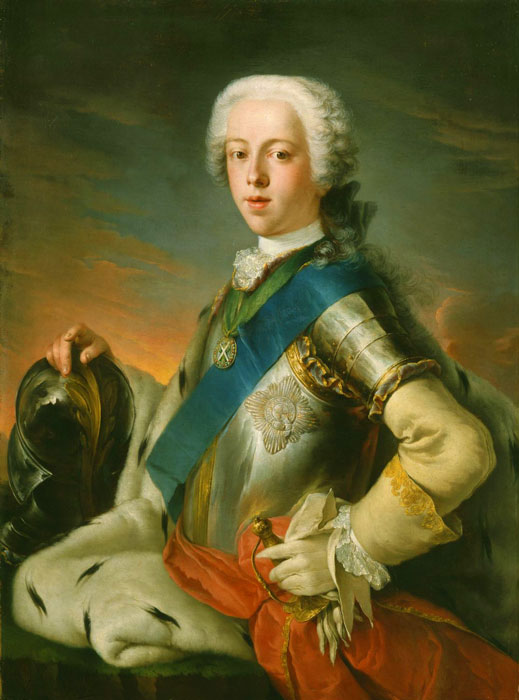 Charles Edward Stuart, Bonnie-Prince-Charlie, the Young Pretender