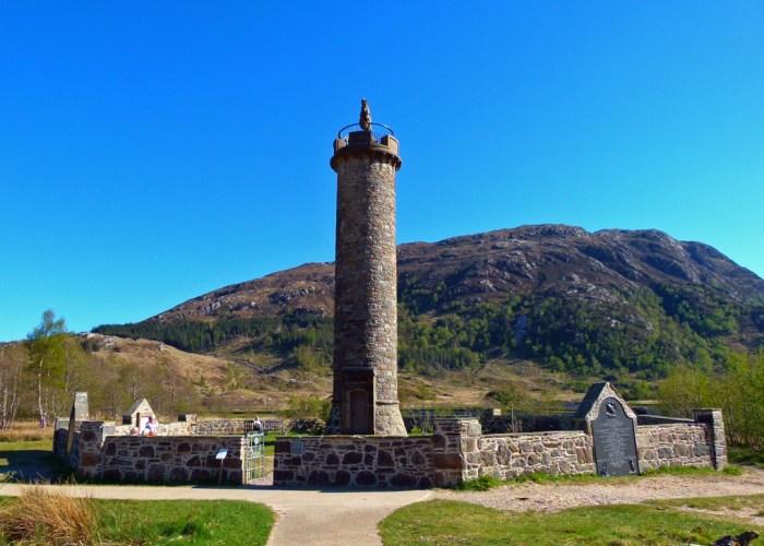Glenfinnan, Jacobite, memorial, Scotland