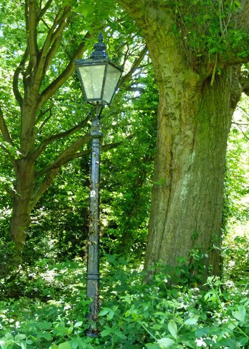 Hampstead Heath, lantern, lamp post, Narnia, CS Lewis