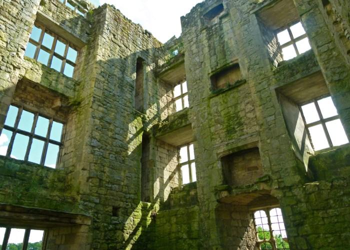 Helmsley, ruined interior