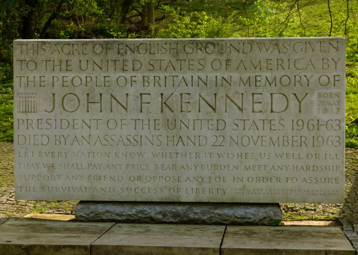 JFK Memorial, Runnymede