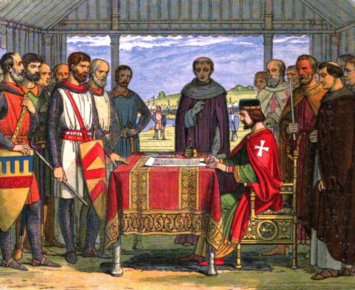 King John, Magna Carta