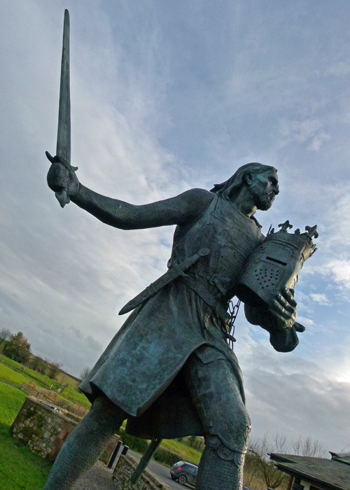 Edward I, Greyhound, Burgh by Sands, Cumbria