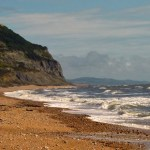 Golden Cap, beach, visit Dorset