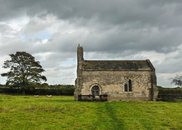 Lead Chapel, deserted hamlet, Yorkshire, Towton