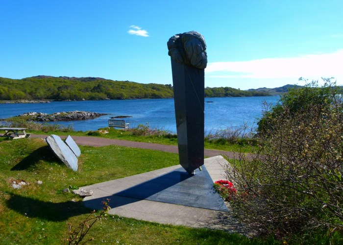 Czech, Slovak, memorial, SOE, Arisaig