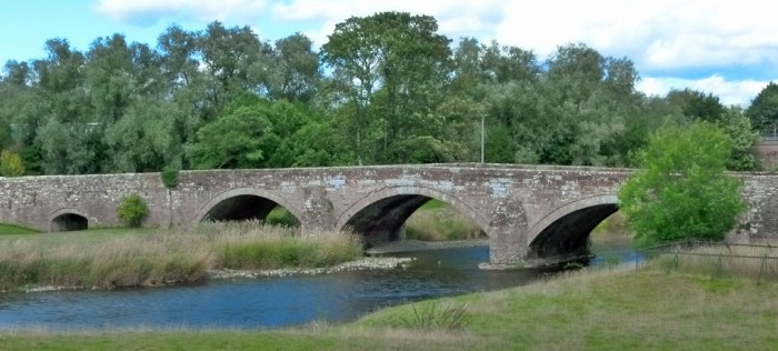 Bridge over the River Eamont at Brougham Castle