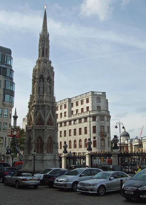 Charing Cross, Trafalgar Squar, Eleanor of Castile, London