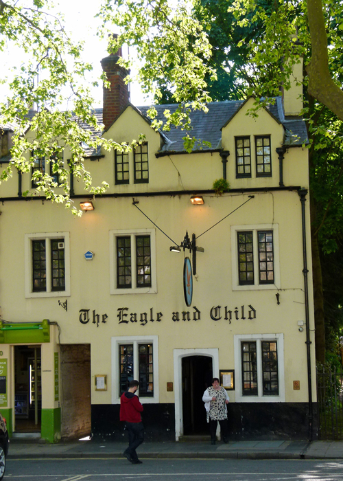 Eagle, Child, pub, Oxford, Tolkien, Lewis