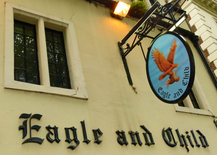 Eagle and Child, name origin, Earl of Derby