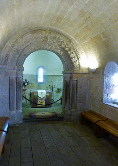 Oldest building in Edinburgh, St Margaret's Chapel, Edinburgh Castle