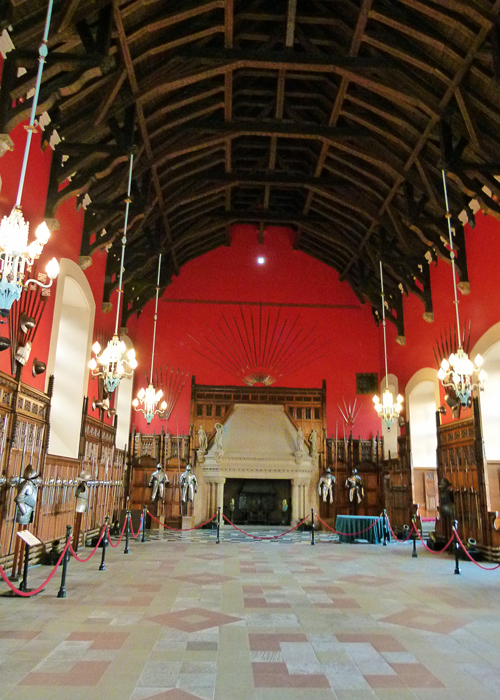 Great Hall, Edinburgh, hammerbeam roof, Scotland
