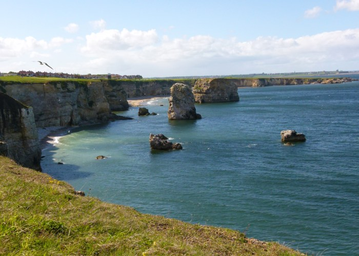 Marsden Bay, South Tyneside, Britain's coast