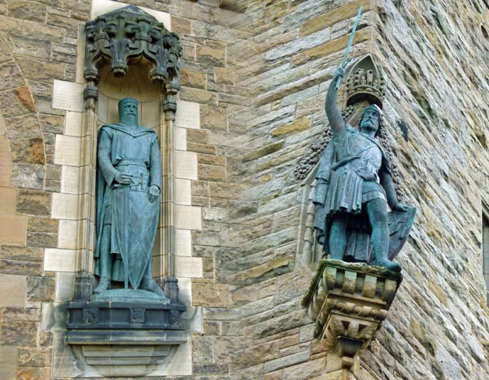 Statue, William Wallace, Edinburgh, Stirling, Wallace Monument