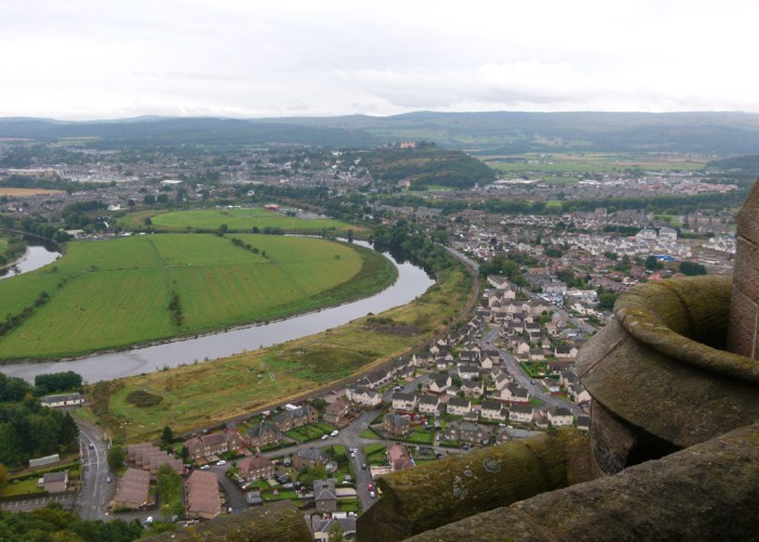 View, Stirling Castle, Battle of Stirling Bridge, National Wallace Monument