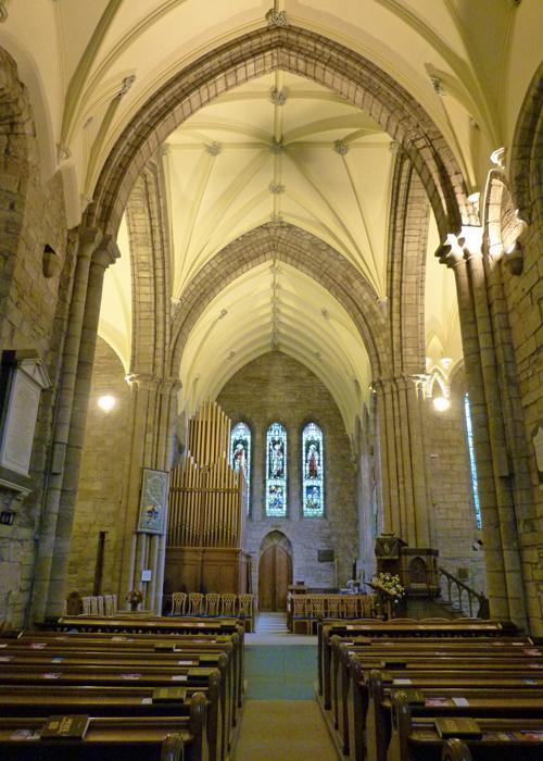 Dornoch Cathedral, interior, Sutherland