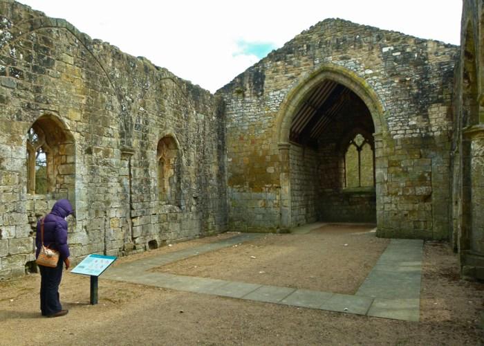 St Martin's, Wharram Percy, ruined church, abandoned village