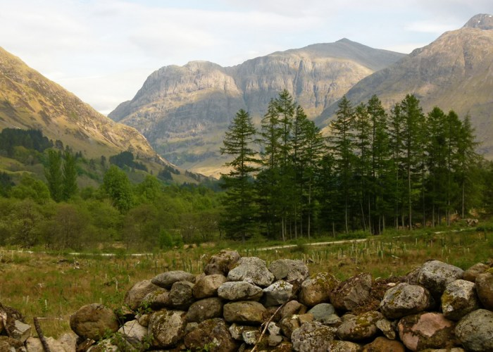 Inverigen, clachan, Glenlyon, Glencoe massacre