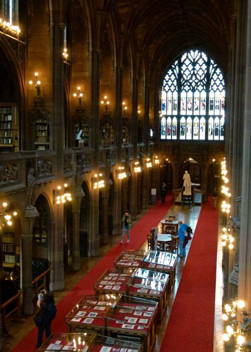 John Rylands Library, reading room, visit Manchester
