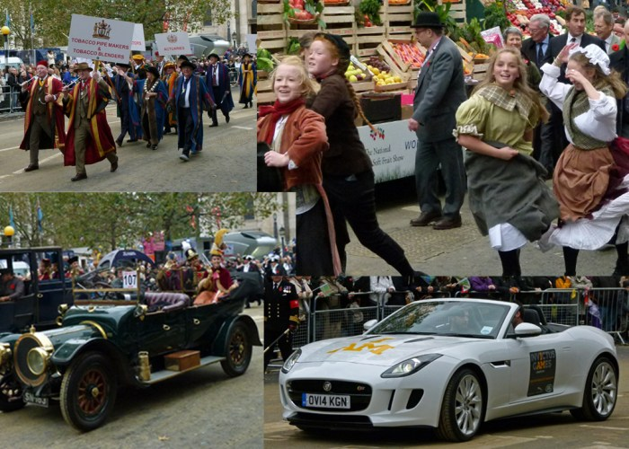 Lord Mayor's Show, livery companies, Invictus Games, Jaguar F-Type, vintage cars