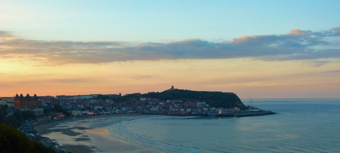 Scarborough Castle, South Bay, Yorkshire