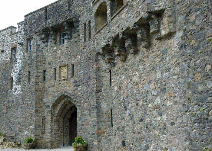 Eilean Donan's castle gate