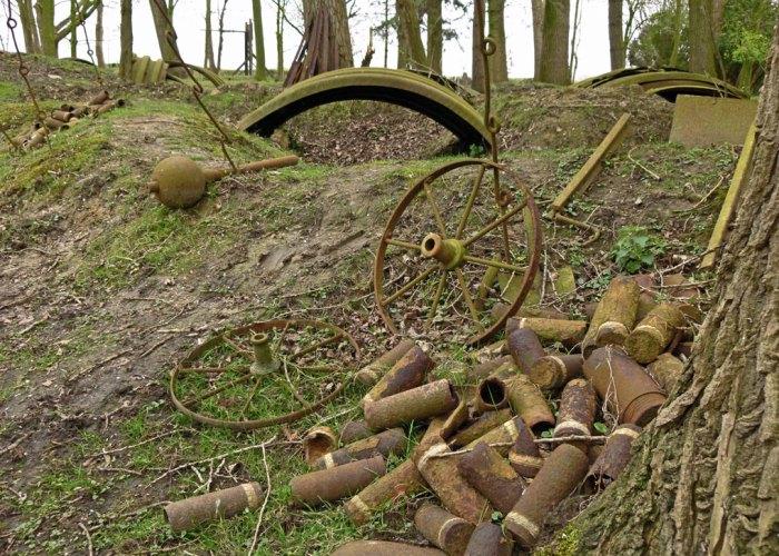 Hooge, battlefield, Ypres