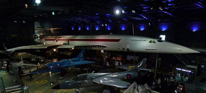 Concorde 002 at the Fleet Air Arm Museum, Yeovilton, Somerset