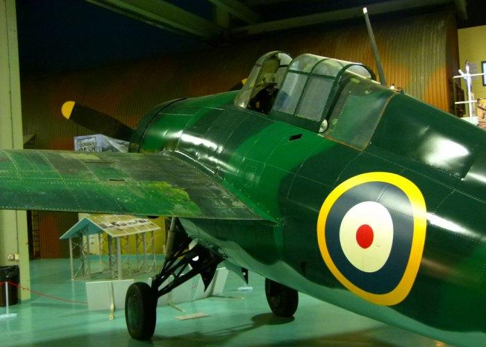 Fleet air arm, Grumman Martlet AL246