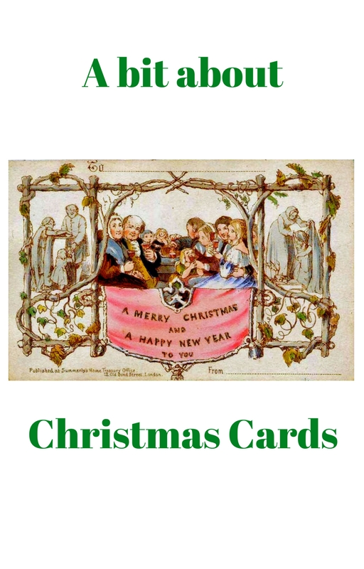 The custom and origin of Christmas cards