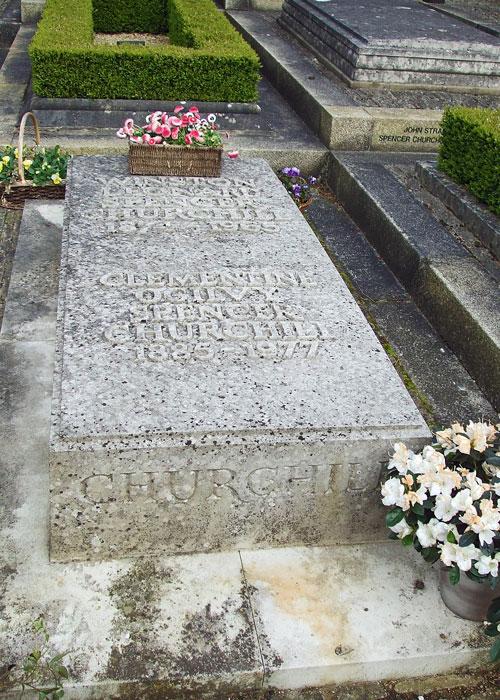 Churchill' grave, Bladon