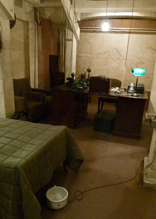 Cabinet War rooms, Churchill's bedroom